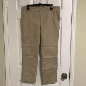 Zara khaki trousers